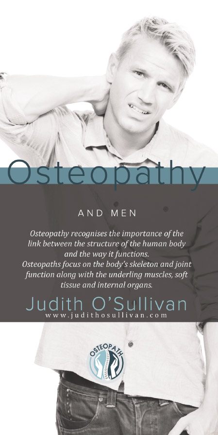 Osteopathy and men at Mallow Osteopathic Clinic